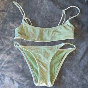 Velvet triangl bikini